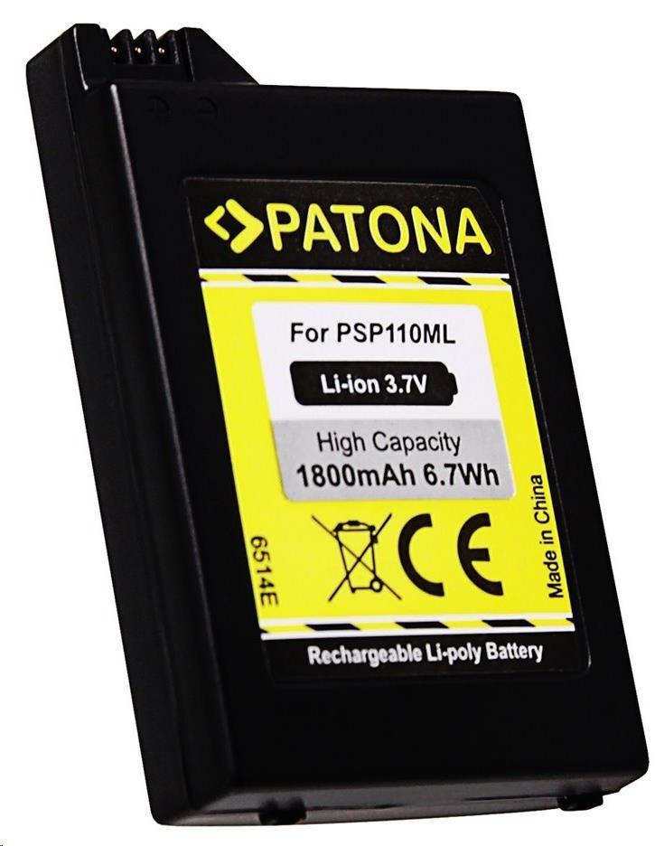 Fotobaterie Patona pro Sony PSP-1000 Portable 1800mAh Li-lon 3,7V