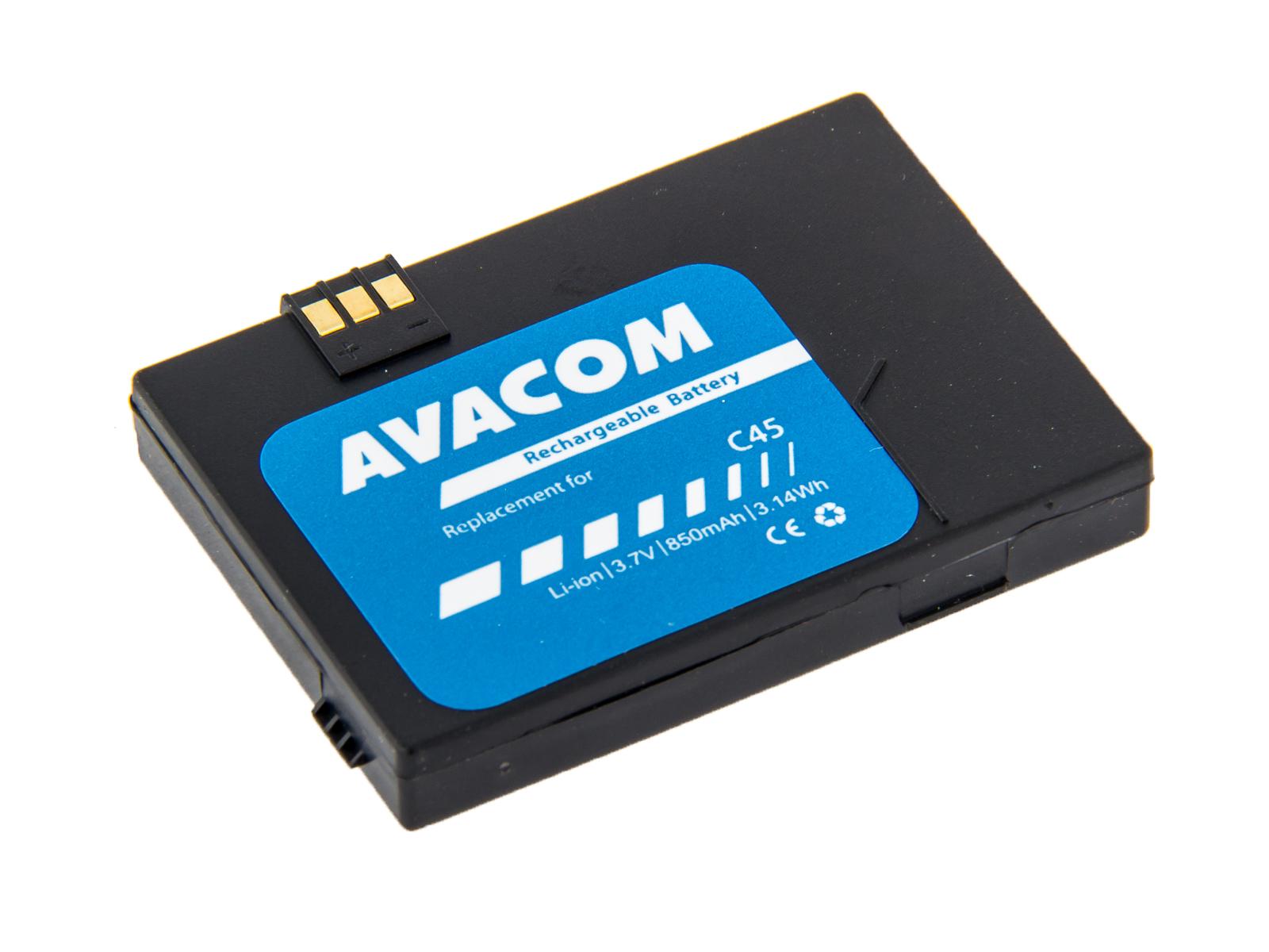 AVACOM Baterie do mobilu Siemens C45, A50, MT50 Li-Ion 3,6V 850mAh