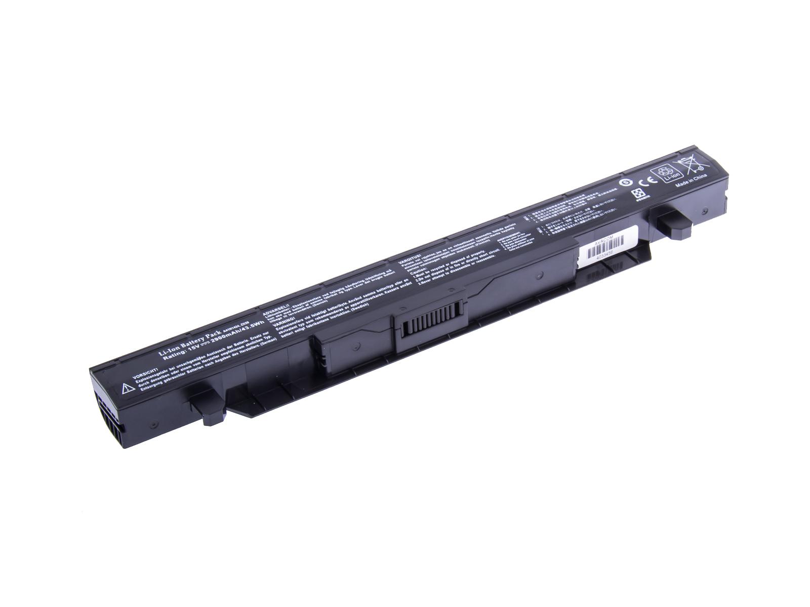 AVACOM baterie pro Asus GL552, ZX50 Li-Ion 15V 2900mAh 44Wh