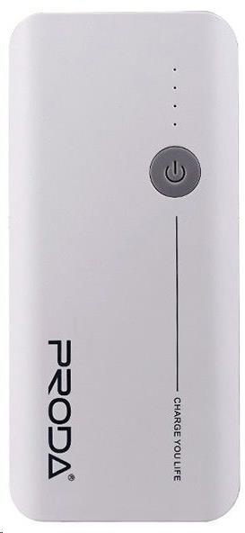REMAX PowerBank Proda 20000 mAh, bez display, bílo-šedá barva EXCLUSIVE (AA-1076)
