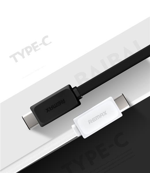 REMAX Datový kabel USB / USB C - nový model , barva černá (AA-1122)