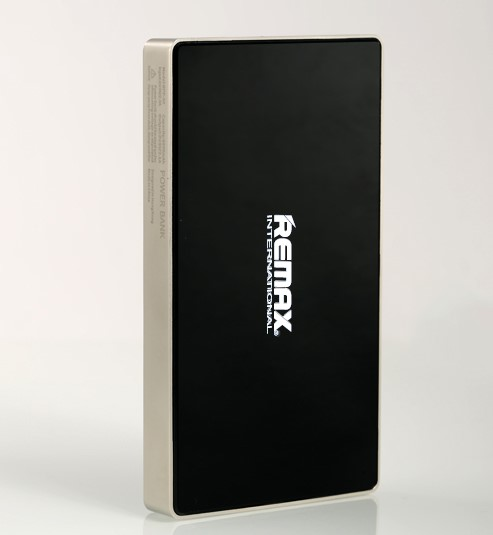 REMAX PowerBank SUPERALLOY 6000 mAh , polymerové baterie , 2,1A výstup, barva zlatočerná (AA-1151)