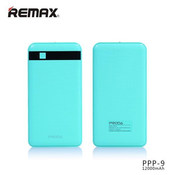 REMAX PowerBank Proda Gentleman 12000 mAh, modrá (AA-1101)