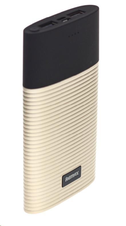 REMAX PowerBank 10000 mAh, Perfume line, zlatá barva (AA-1255)