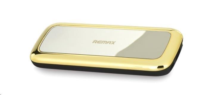 REMAX PowerBank 5500 mAh, Miror line, zlatá barva (AA-1219)