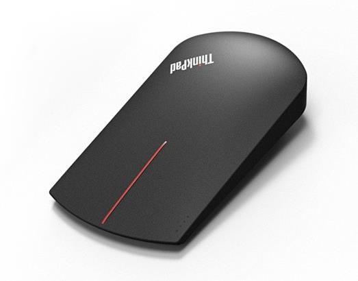 LENOVO myš bezdrátová ThinkPad X1 Wireless Touch - 1000dpi, USB/Bluetooth, černá (4X30K40903)