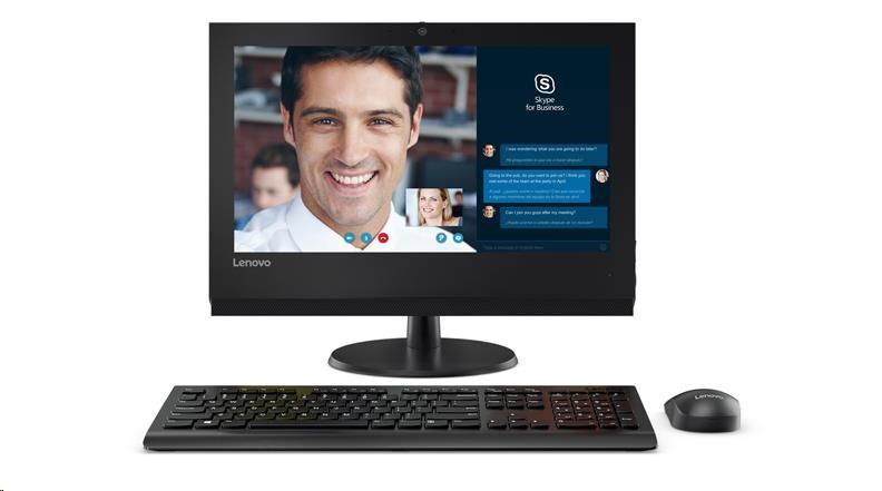 "LENOVO PC V310z AiO - Pentium G4560,19.5"" 1600x900,4GB,1TB72,HD610,DVD,HDMI,6xUSB,kl+myš,Bez OS,1Y on-site"