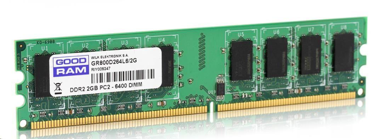 DIMM DDR2 2GB 800MHz CL6 GOODRAM (GR800D264L6/2G)