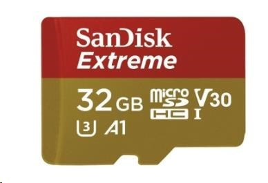SanDisk microSDHC 32GB Ultra Android (+SD Adapter, 100 MB/s, Class10) (SDSQXAF-032G-GN6MA)