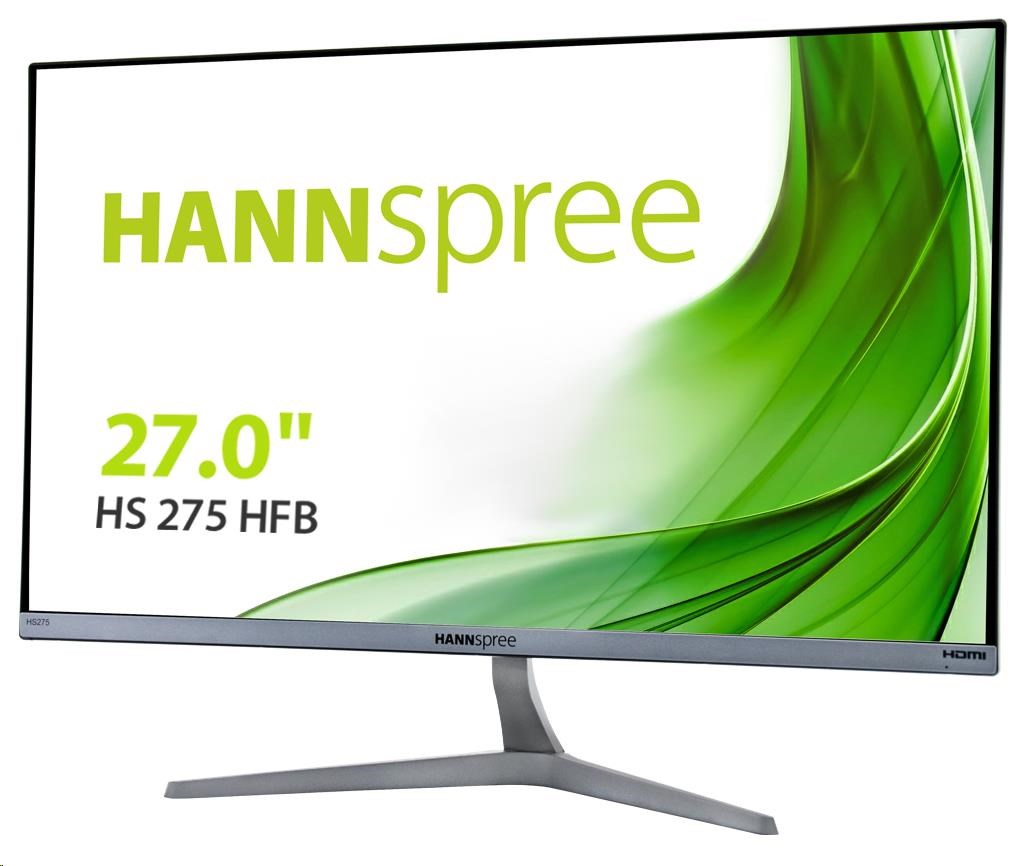 "HANNspree HS 275 HFB, Full HD LCD monitor 27"", HDMI, VGA"
