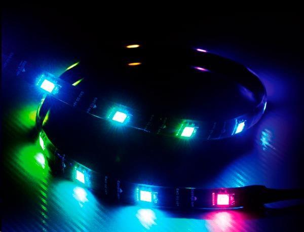 AKASA LED pásek Vegas MBA, magnetický, RGB