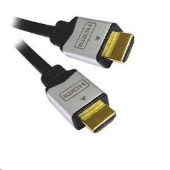 PREMIUMCORD Kabel HDMI A - HDMI A M/M 2m zlacené a kovové HQ konektory
