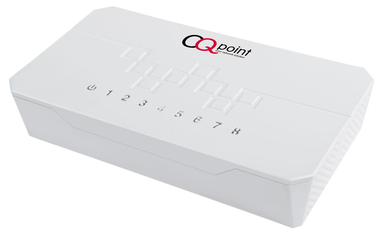 CQpoint CQ-C108 switch 8 portů, 10/100 RJ-45