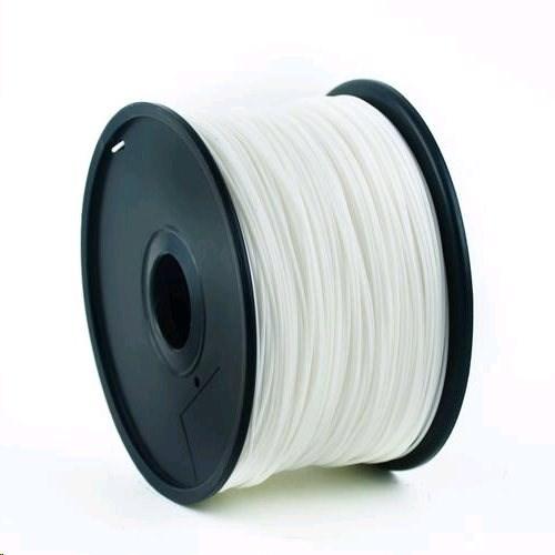 GEMBIRD Tisková struna (filament) ABS, 1,75mm, 1kg, bílá (3DP-ABS1.75-01-W)