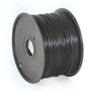 GEMBIRD Tisková struna (filament) ABS, 1,75mm, 1kg, černá (3DP-ABS1.75-01-BK)