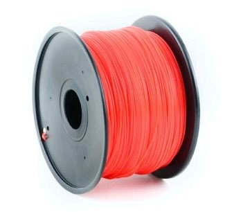 GEMBIRD Tisková struna (filament) ABS, 1,75mm, 1kg, červená (3DP-ABS1.75-01-R)