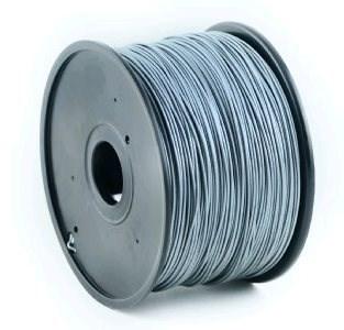 GEMBIRD Tisková struna (filament) ABS, 1,75mm, 1kg, stříbrná (3DP-ABS1.75-01-S)