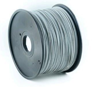 GEMBIRD Tisková struna (filament) ABS, 1,75mm, 1kg, šedá (3DP-ABS1.75-01-GR)