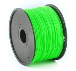 GEMBIRD Tisková struna (filament) ABS, 1,75mm, 1kg, zelená (3DP-ABS1.75-01-G)