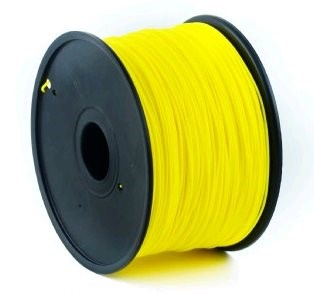 GEMBIRD Tisková struna (filament) ABS, 1,75mm, 1kg, žlutá (3DP-ABS1.75-01-Y)