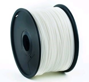 GEMBIRD Tisková struna (filament) PLA, 1,75mm, 1kg, bílá (3DP-PLA1.75-01-W)