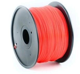 GEMBIRD Tisková struna (filament) PLA, 1,75mm, 1kg, červená (3DP-PLA1.75-01-R)