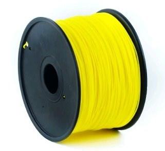 GEMBIRD Tisková struna (filament) PLA, 1,75mm, 1kg, žlutá (3DP-PLA1.75-01-Y)