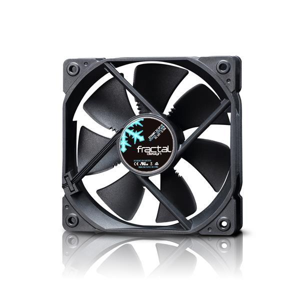 FRACTAL DESIGN ventilátor 120mm Dynamic X2 GP-12, černý (FD-FAN-DYN-X2-GP12-BK)