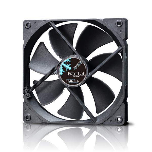 FRACTAL DESIGN ventilátor 140mm Dynamic X2 GP-14, černý (FD-FAN-DYN-X2-GP14-BK)