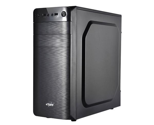 SPIRE skříň SUPREME 1608, 420W, Midi Tower, black, USB 3.0 (SPT1608B-420W-E12-U3)