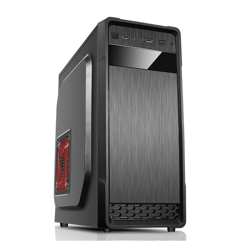 SPIRE skříň SUPREME 1614, 420W, Midi Tower, black, USB 3.0 (SPT1614B-420W-E12-2U3)