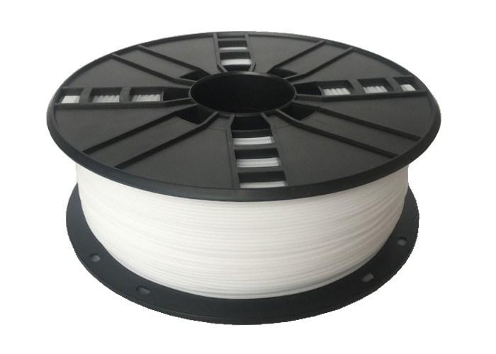 GEMBIRD Tisková struna (filament) nylon, 1,75mm, 1kg, bílá (3DP-NYL1.75-01-W)