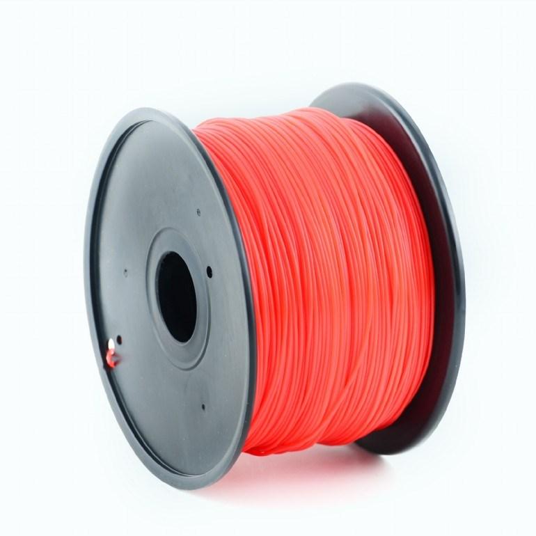 GEMBIRD Tisková struna (filament) HIPS, 1,75mm, 1kg, červená