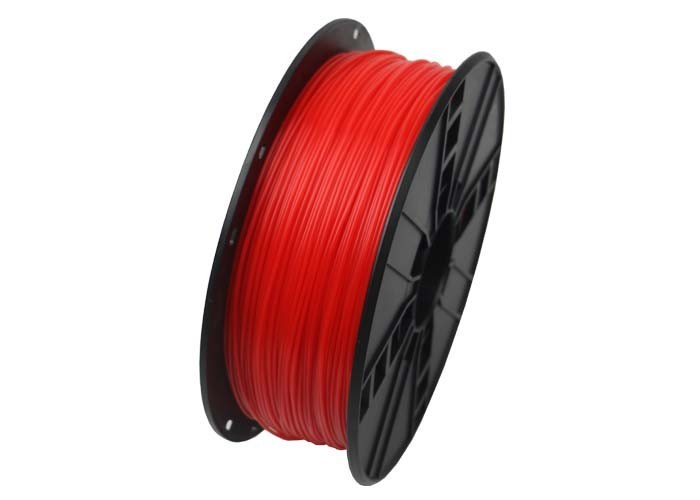 GEMBIRD Tisková struna (filament) PLA, 1,75mm, 1kg, fluorescentní, červená