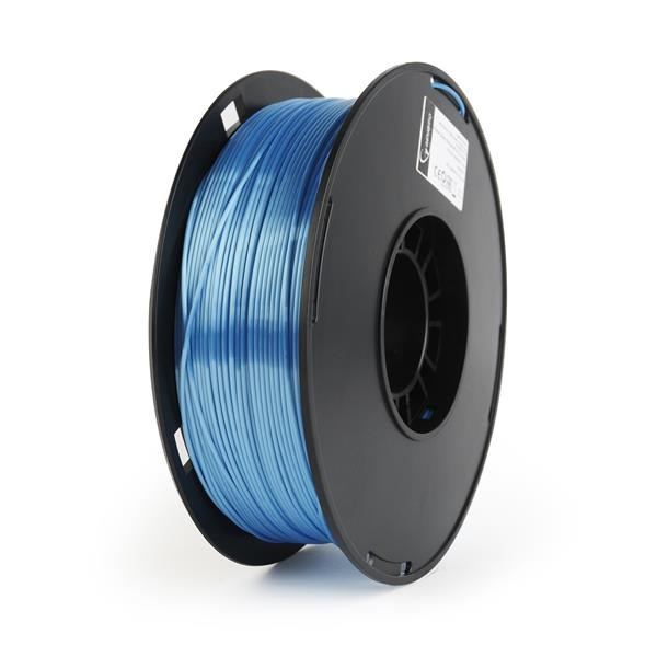 GEMBIRD Tisková struna (filament) PLA PLUS, 1,75mm, 1kg, modrá