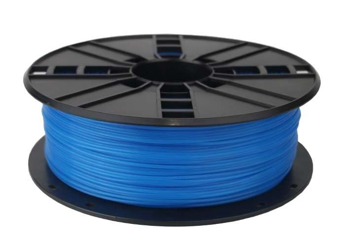 GEMBIRD Tisková struna (filament) PLA, 1,75mm, 1kg, luminiscenční modrá