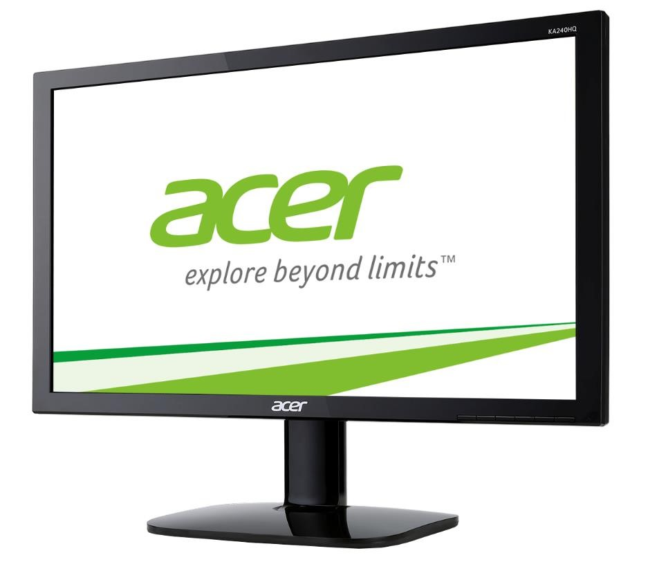 "ACER LCD KA220HQbid, 55cm (21.5"") TN LED, 1920 x 1080, 100M:1, 200cd/m2, 5ms, VGA+HDMI+DVI (w/HDCP), Black EcoDisplay (UM.WX0EE.001)"