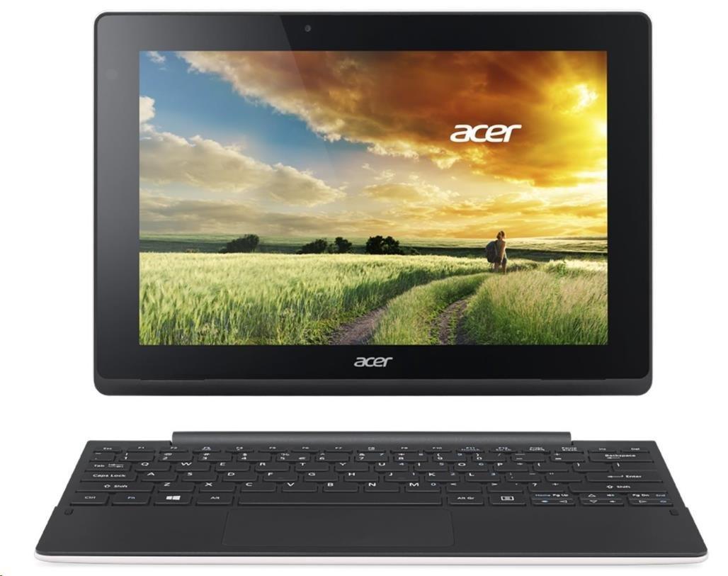 """ACER Aspire Tab Switch 10E (SW3-016-14W5) - x5-Z8300,10.1"""" WXGA multi-touch,2GB,64GB eMMC,dock+kl,BT,2xCAM,2čl,W10,wh/bl (NT.G8QEC.001)"""