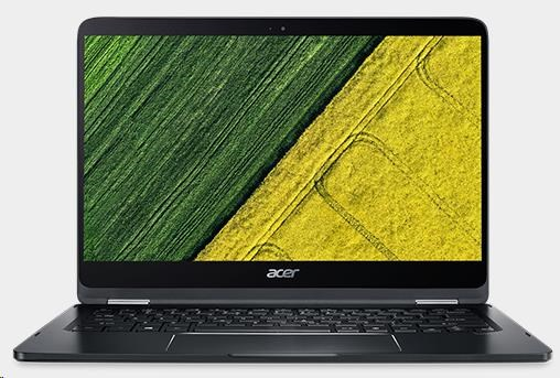 """ACER NTB Spin 7 (SP714-51-M23G)-i7-7Y75@1.3, 14"""" Multi-touch FHD IPS, 8GB, 256SSD, intel HD, W10P (NX.GKPEC.003)"""