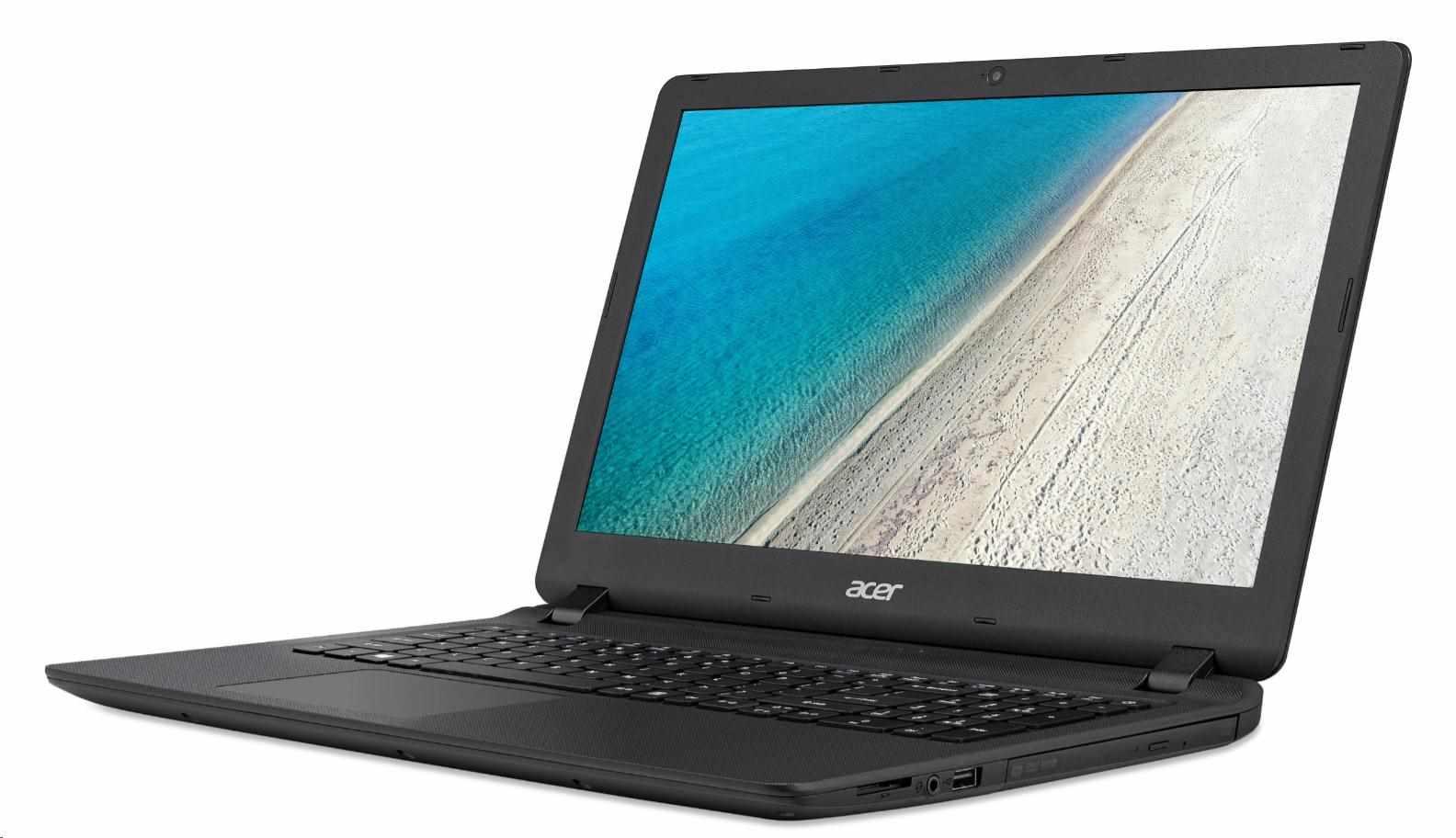 """ACER NTB Extensa 15 (EX2540-53FE) - i5-7200U@2.5GHz,15.6""""FHD mat,4GB,256SSD,čt.pk,DVD,IntelHD,BT,cam,4čl,W10P,černá (NX.EFHEC.009)"""