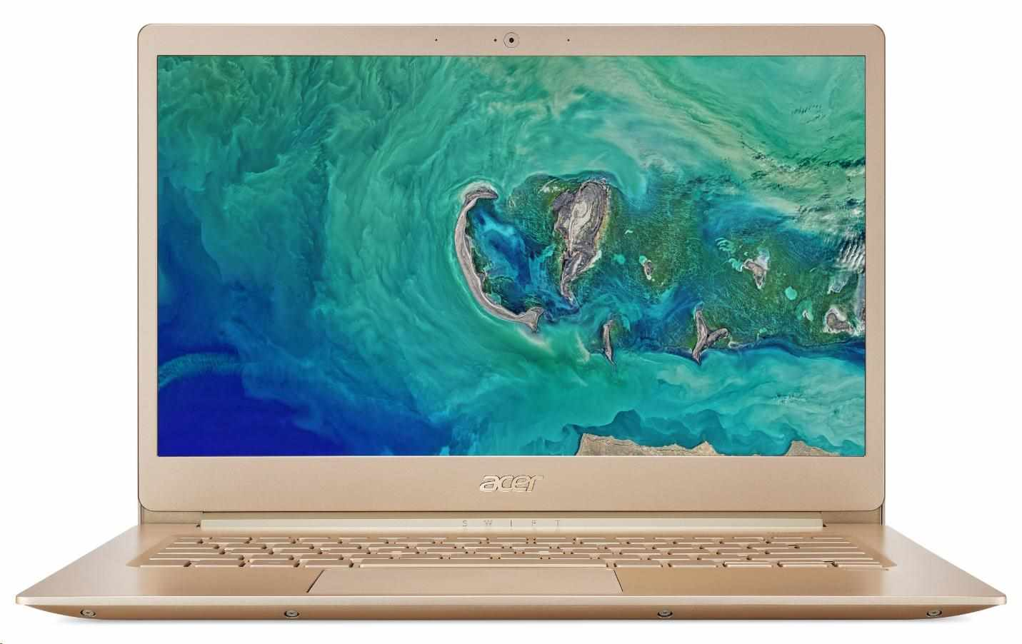 "ACER NTB Swift 5 SF514-52T-556K - i5-8250U@1.6GHz,14""FHD IPS mat,8GB,256SSD,HD graphics,cam,HDMI,usb-c,W10H,gold"