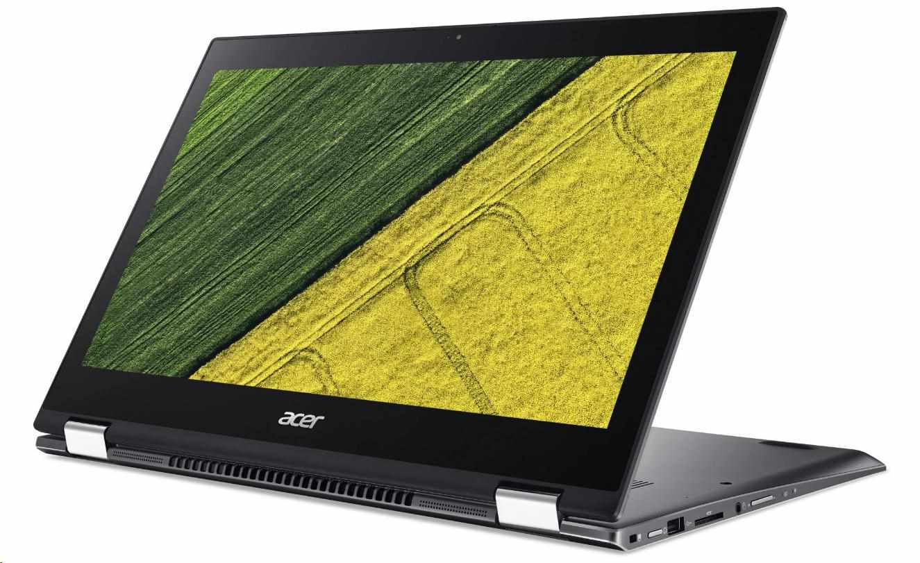 "ACER NTB Spin 5 Pro (SP513-52NP-8393) - i7-8550U,13.3"" multi-touch FHD IPS,16GB,512SSD,HD graphics,USB-C,W10P,gray"