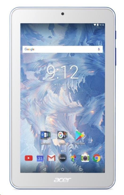 "ACER Iconia One 8 (B1-870-K6VH) - MT8167B@1.3GHz, 8"" 1280x800 IPS WXGA, 1GB, 16GB eMMC, BT, 2xcam,GPS, Andr. 7,modrý NT.LEUEE.002"