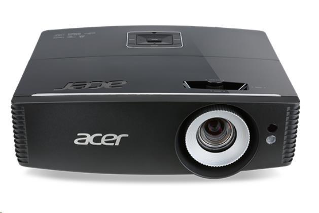 ACER Projektor P6200S, 1024 x 768, DLP, ZOOM, 4.5KG, 5000Lum, HDMIx2, VGA, USB, RJ45 (MR.JMB11.001)