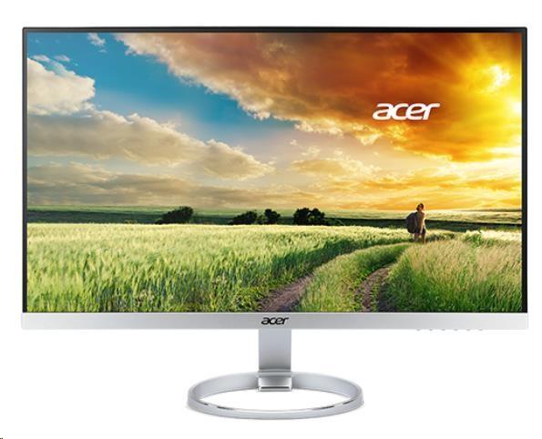 """ACER LCD H277HUsmipuz, 69CM (27"""") WQHD IPS, 100M:1, 350cd/m2, 178°/ 178°, 4ms, HDMI, DP, repro, stříbrný (UM.HH7EE.018)"""