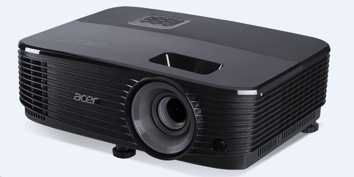 ACER Projektor X1123H - DLP 3D, SVGA 800x600, 3600Lm, 20000/1, 5000 h, HDMI, VGA, USB, RS-232 (MR.JPQ11.001)