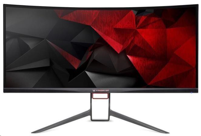 "ACER LCD X34PBMIPHZX - 34""(87cm), 100M:1, 300cd/m2, 172°x178°, 4ms, HDMI, DP, USB, black"