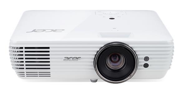 ACER Projektor V6815, DLP 4K, 2200lm, 10000/1, HMDI, HDR, Rec 2020, V-LS, Bag, 5.5kg, EURO Power EMEA