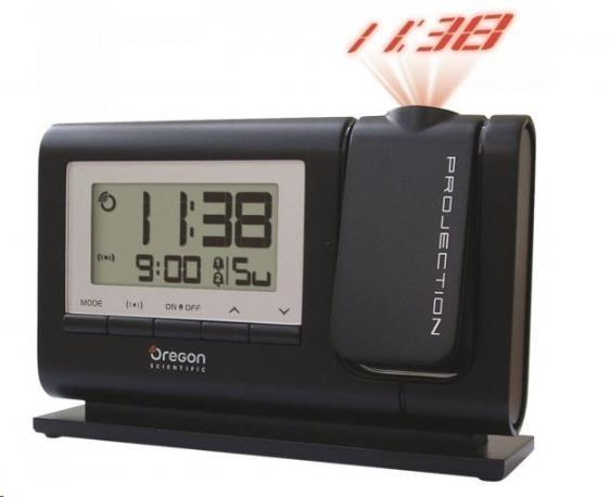 Oregon RM308PBK - digitální budík s projekcí