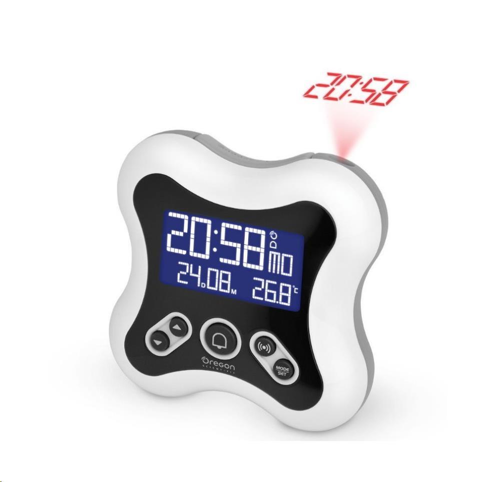 Oregon RM331PW - digitální budík s projekcí času